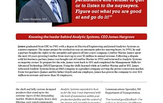 Analytic Systems article page 3
