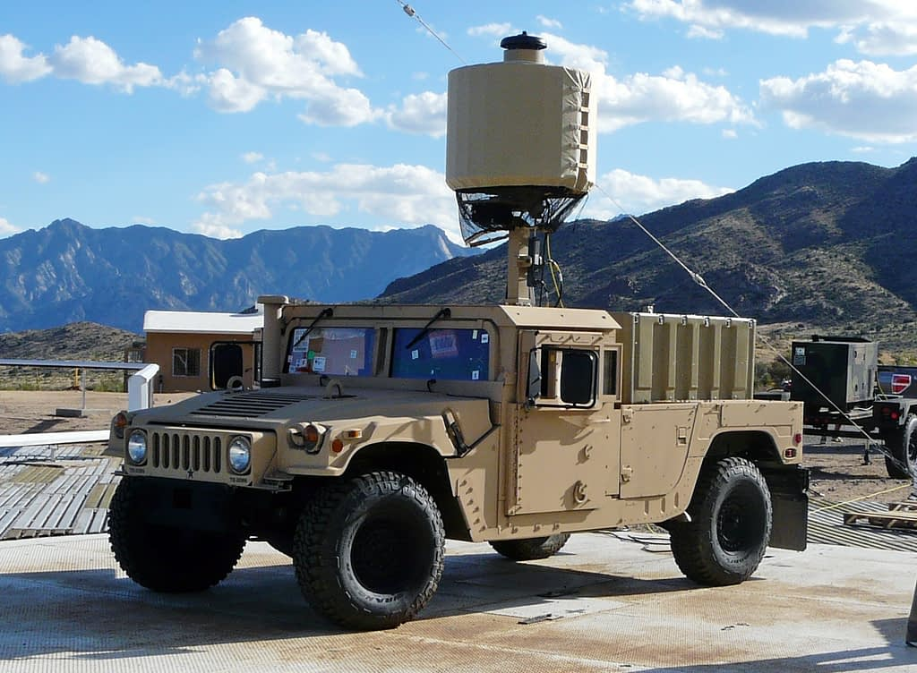 Military Mortar Radar Power