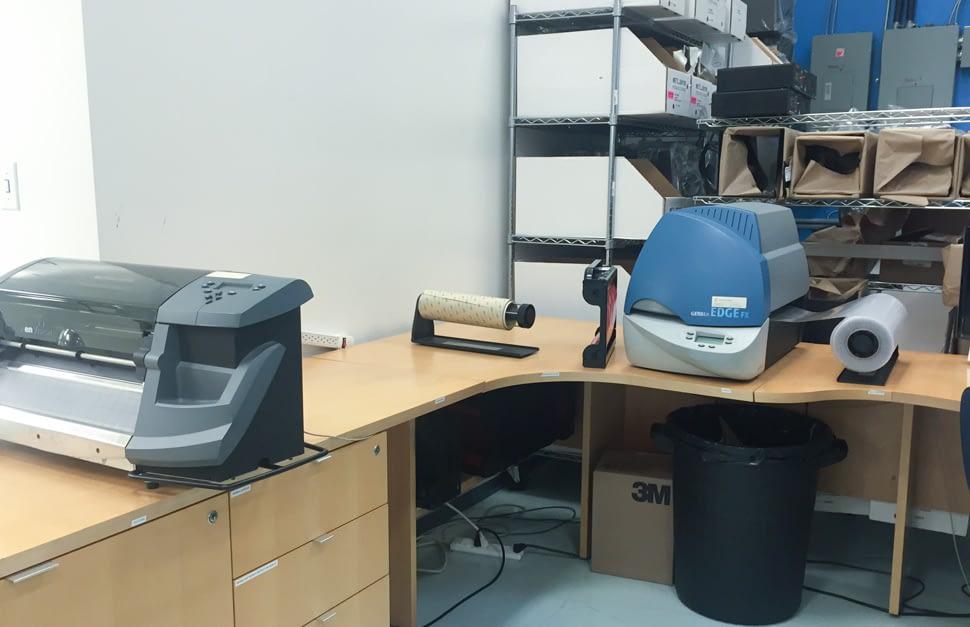 Gerber Printing Station